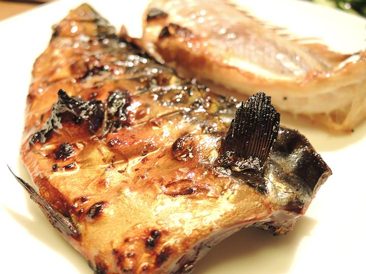 金目鯛とサバの干物
