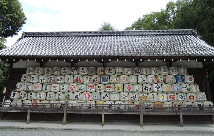 松尾大社の菰樽
