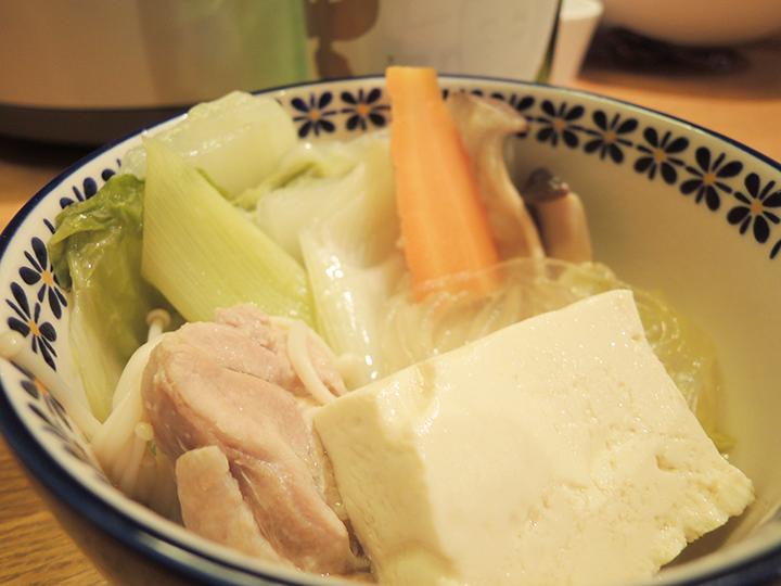 鶏肉のお鍋