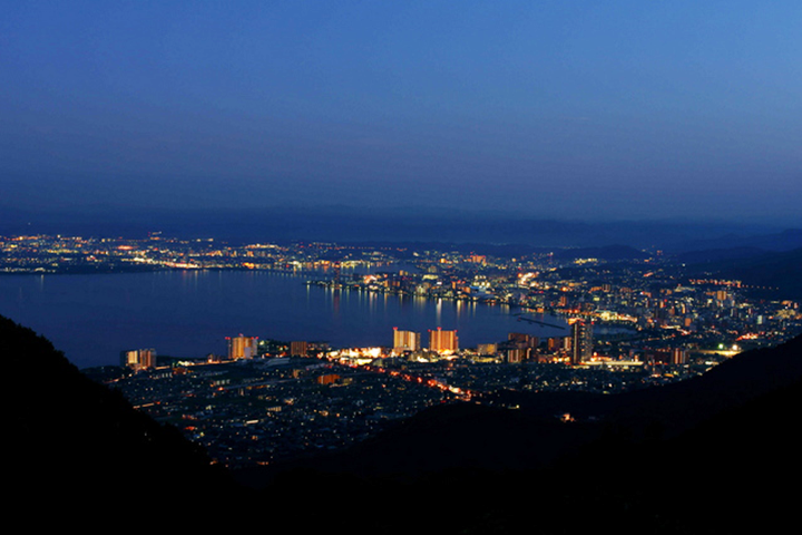 大津市の夜景