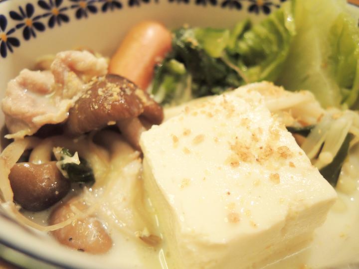豆乳鍋、ホッコリ