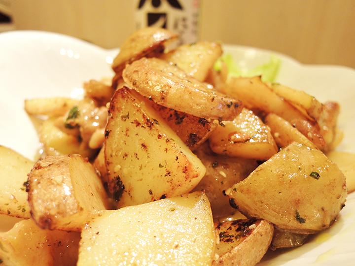 ポテトとベーコン炒め