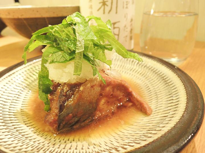 鯖の味噌煮込み