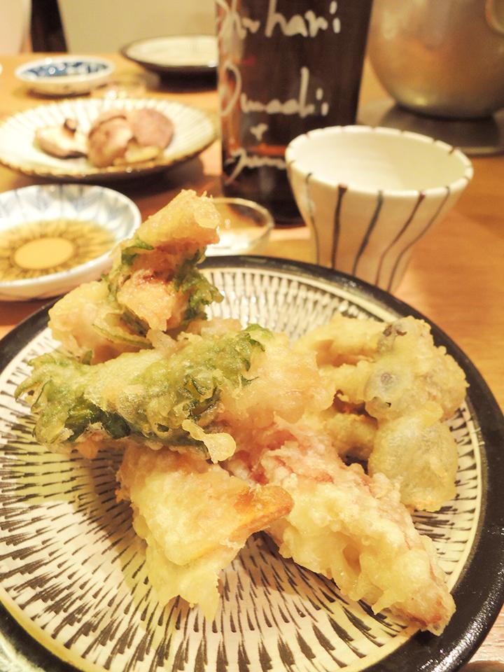 ササミ天ぷら