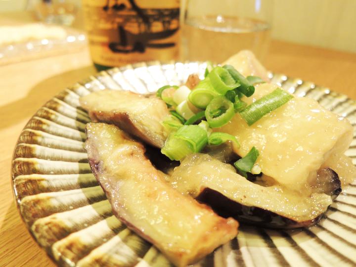 揚げダシ豆腐 & 茄子