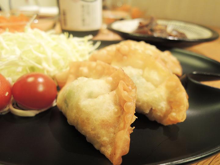 シーチキンの揚げ餃子