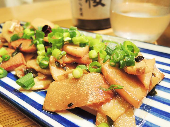 タケノコの炒め物