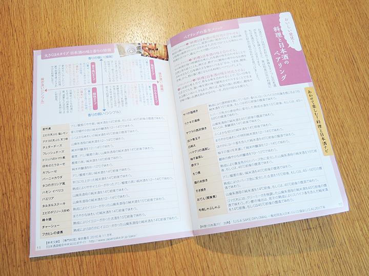 サケスプ日本酒ブックレット