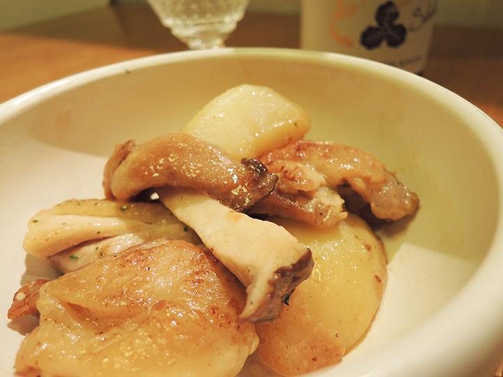 ジャガイモ炒め