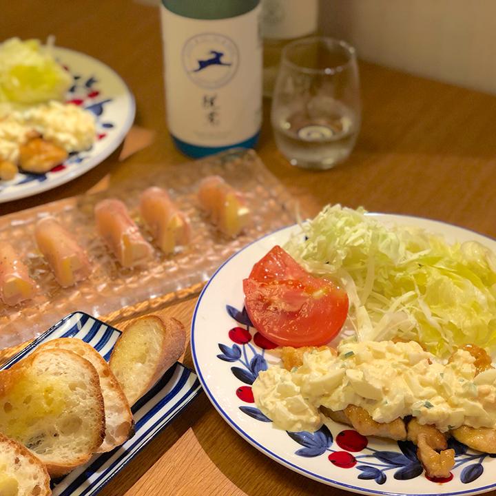 チキン&タルタルソース