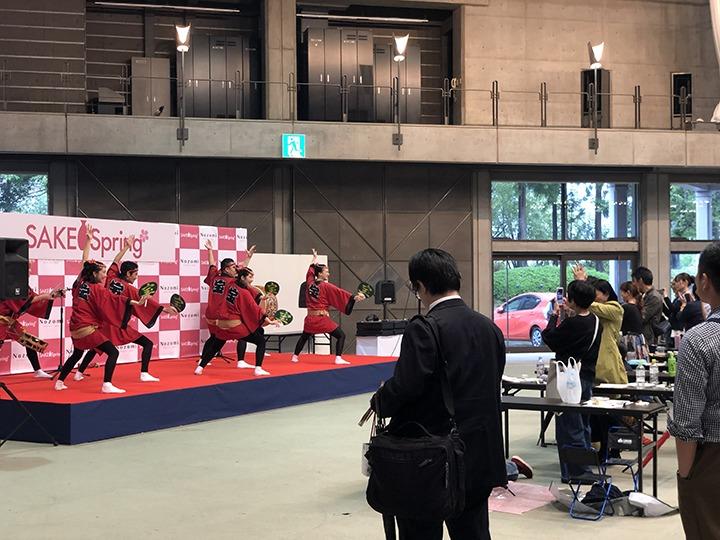 プロ阿波踊り集団「寶船」