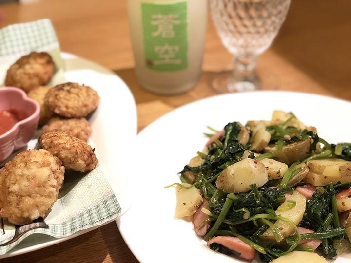 鶏肉ミンチと豆腐で作ったナゲット