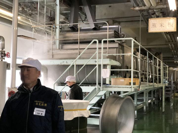 醸造工場見学