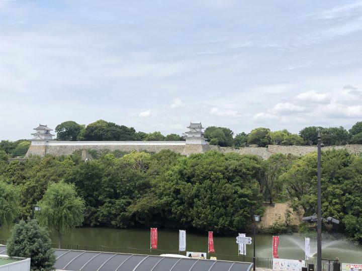 明石城のお堀