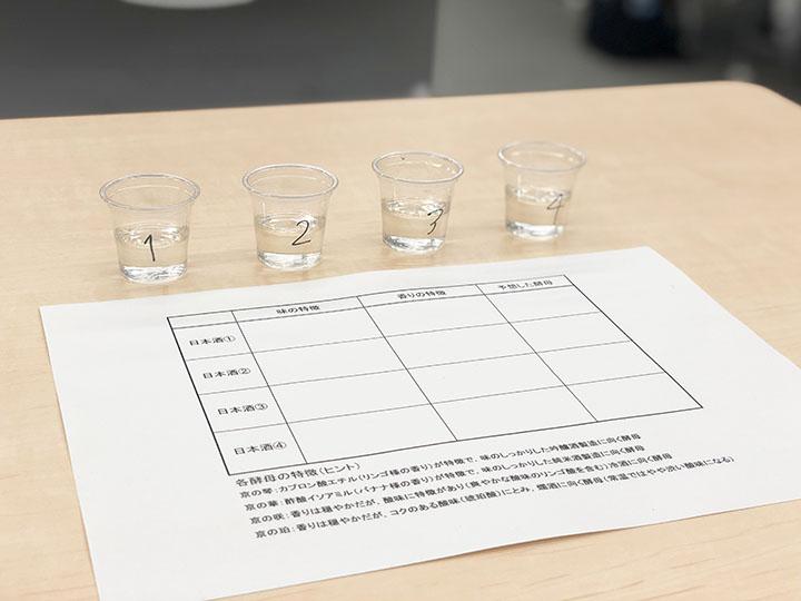 京都独自酵母のきき酒